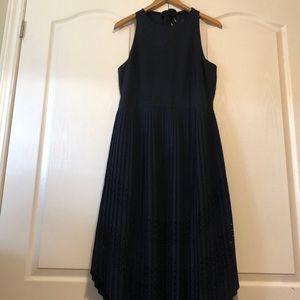 Banana Republic Halter with ripple length skirt